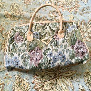 vintage || west indies carpet bag